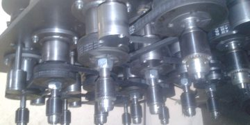 Multispindle drilling