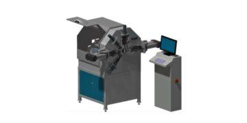 Stroj na výrobu pružin s definovanými mezerami