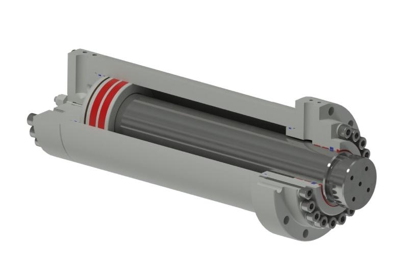 navrh hydraulickeho valce